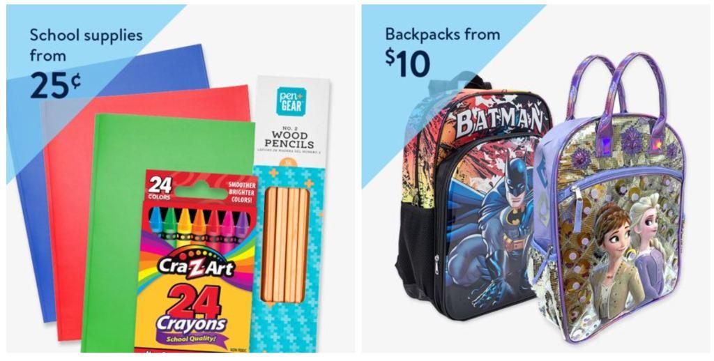 Walmart back to school deals
