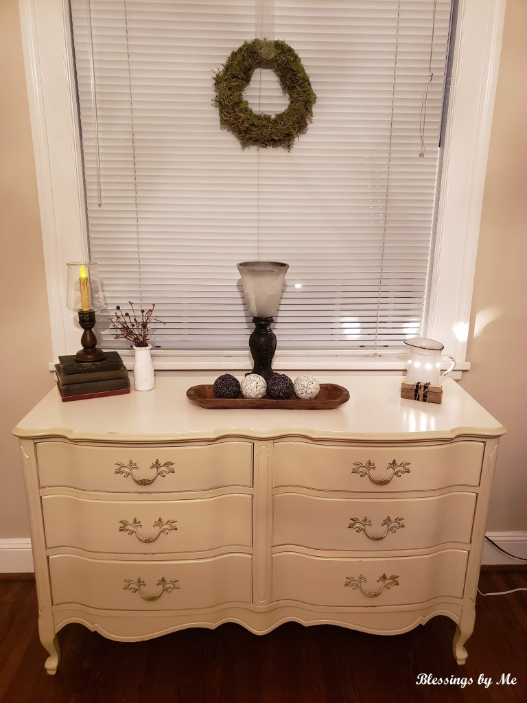 upstairs dresser