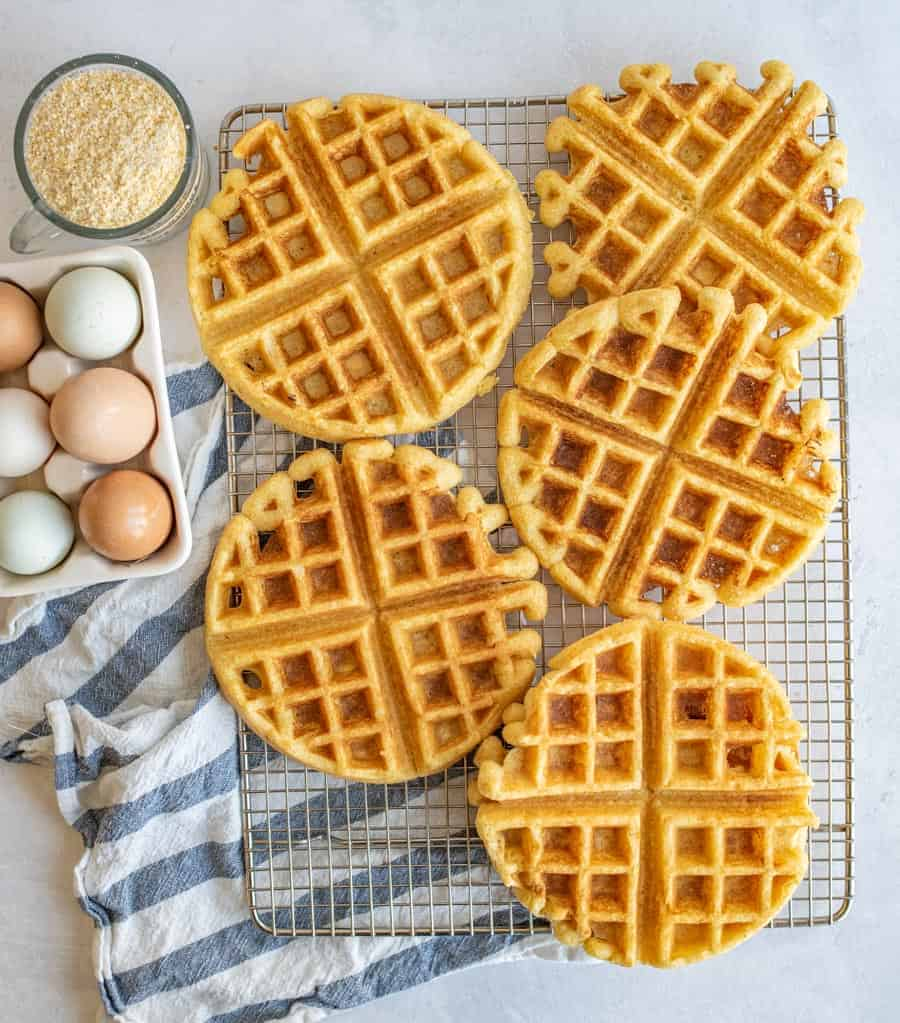 Savory Cornbread Waffles Recipe