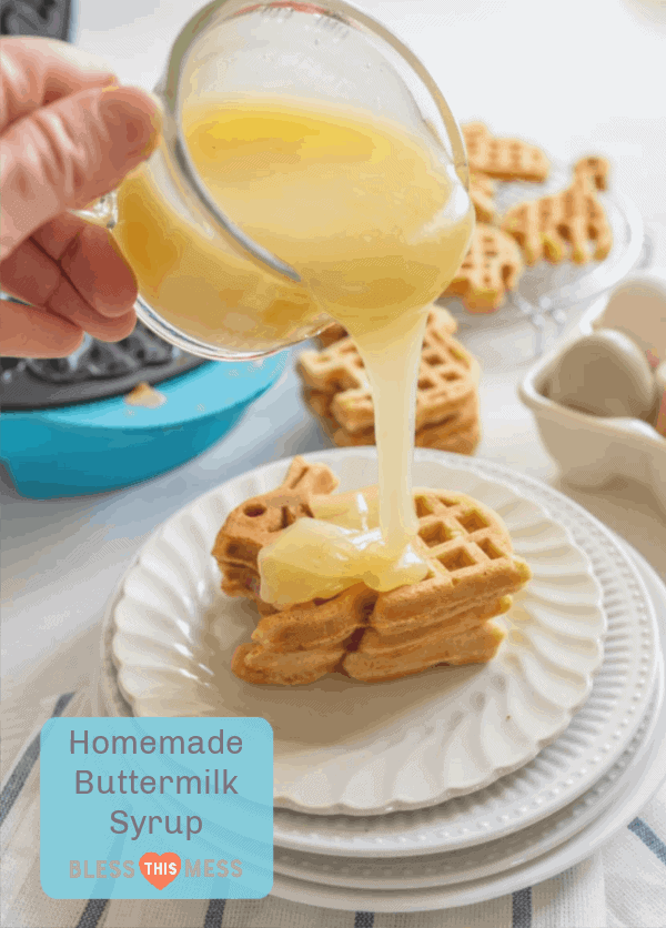 Homemade Buttermilk Syrup for Pancakes, Waffles & French Toast