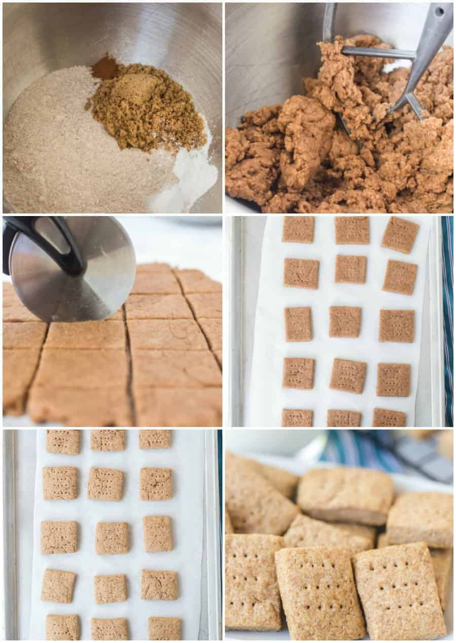 simple homemade graham crackers recipe how to image