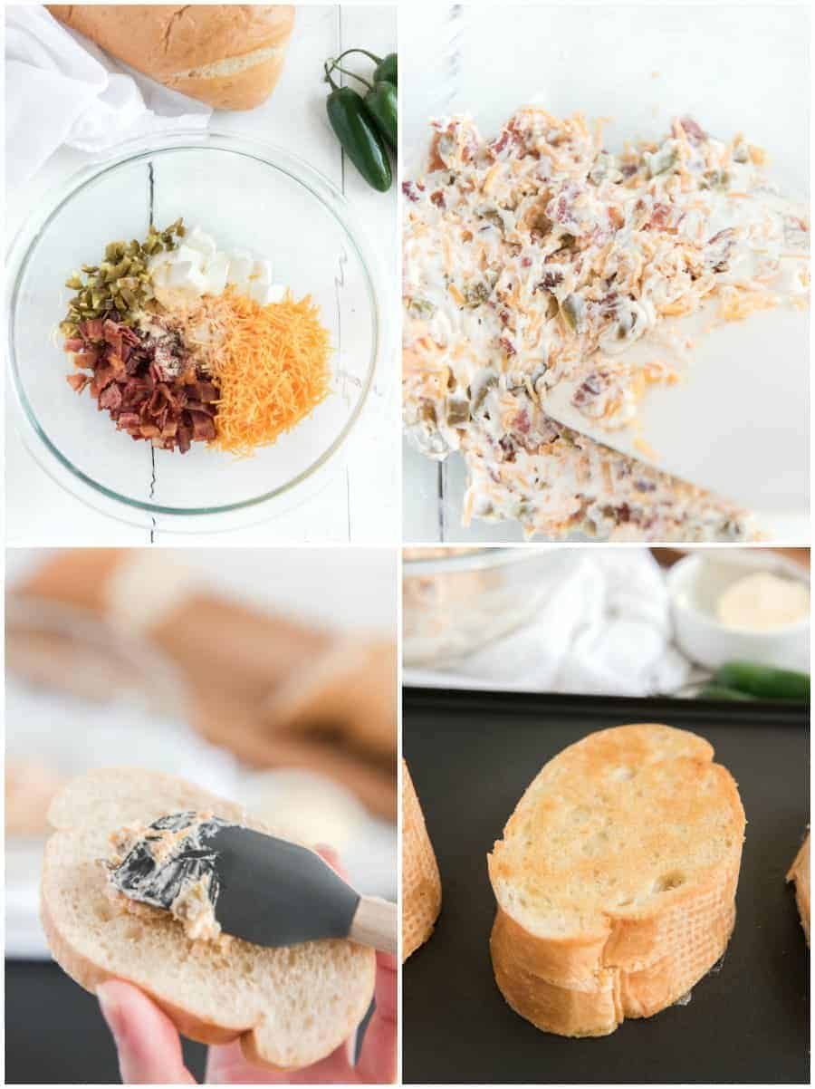 jalapeno popper grilled cheese recipe how to collage image