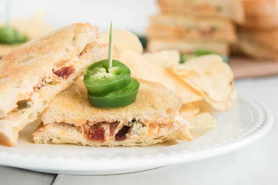 jalepeno grilled cheese sandwich