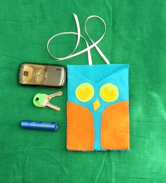 How to: Owl Purse Insert