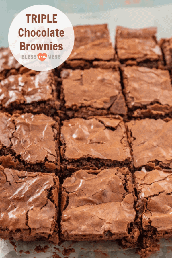 Triple Chocolate Brownies | America's Test Kitchen Homemade Brownies