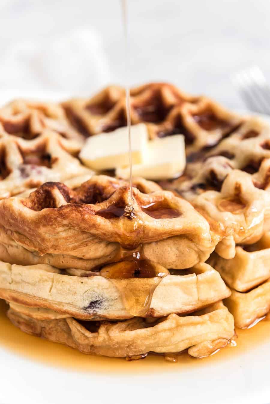 Fruit Waffles Recipe