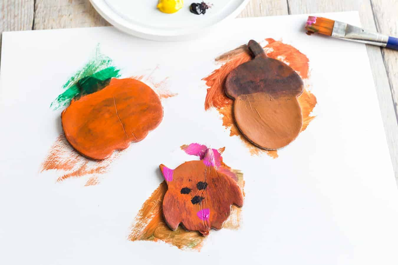 Image of Painted Clay Magnets