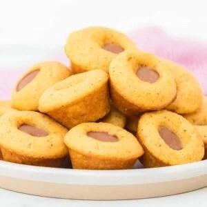 Mini Baked Corn Dogs