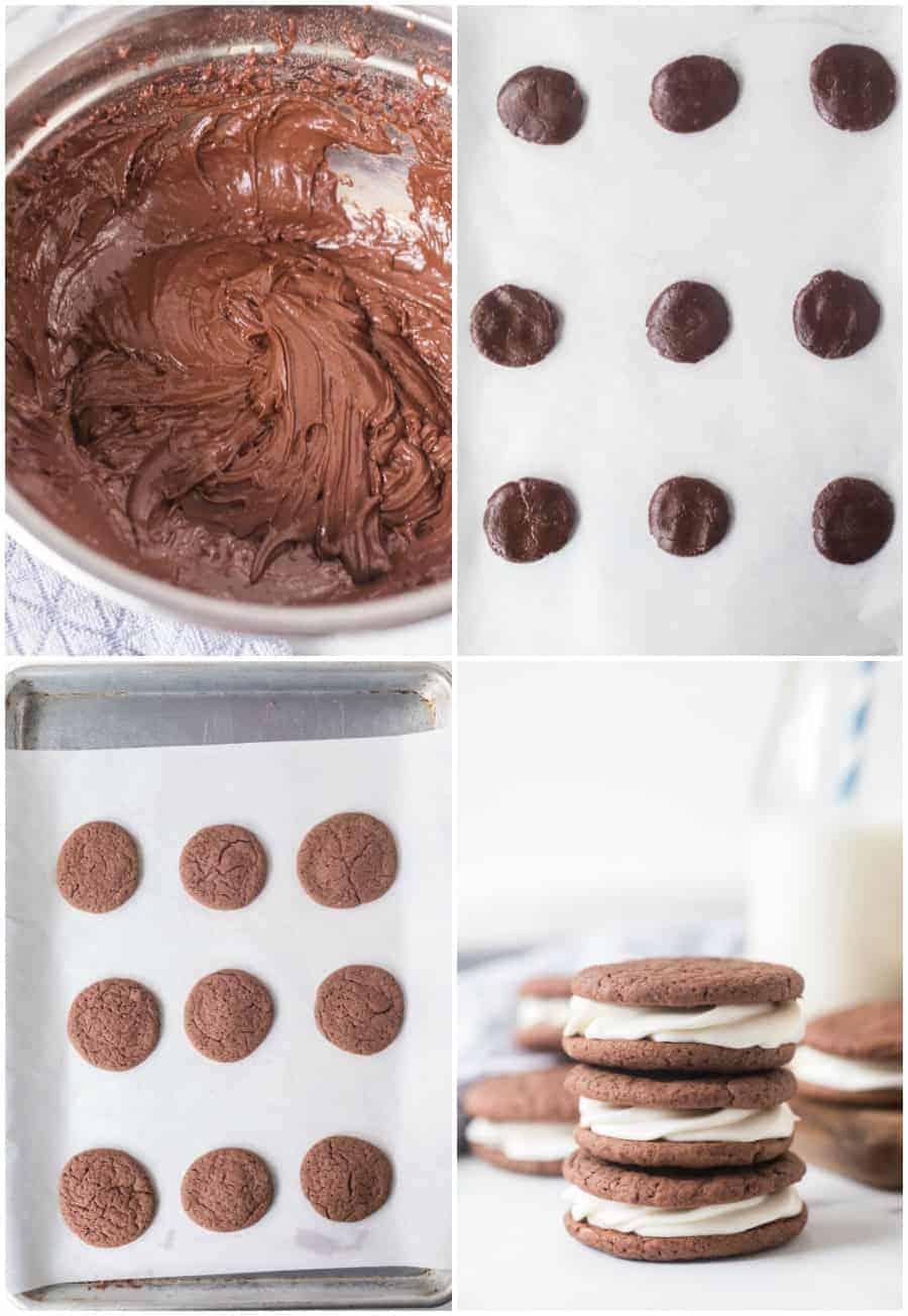 how to make oreos with a cake mix