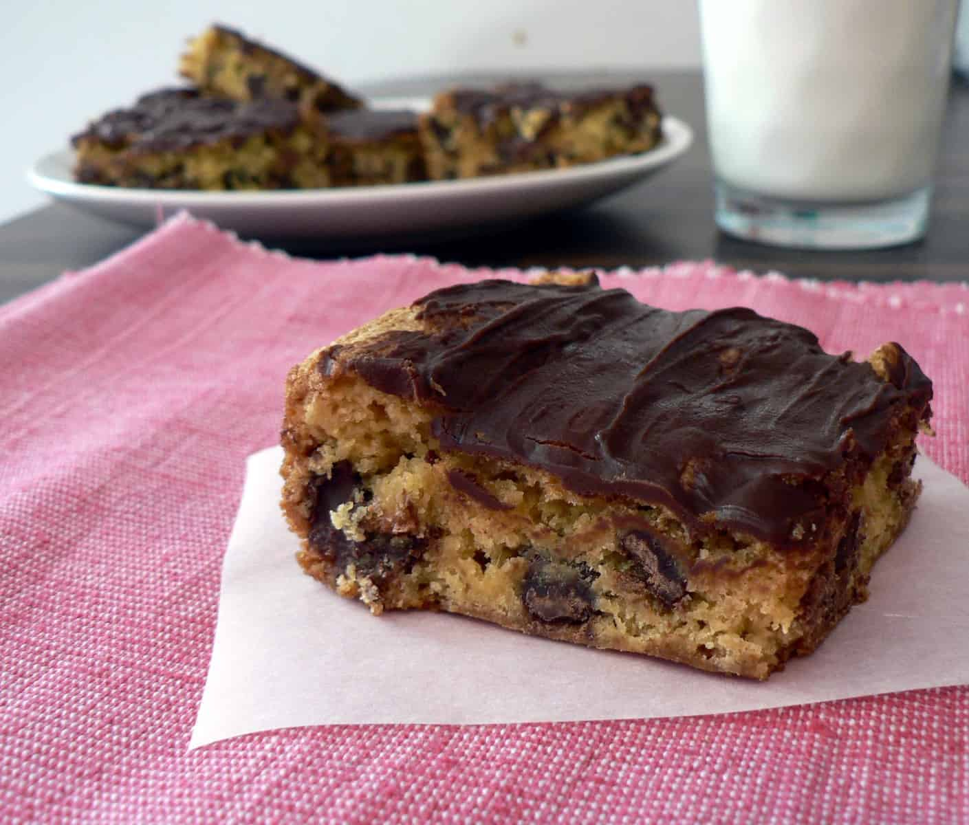 Cheater cookie bar recipes, cake mix bars, yellow cake mix cookies