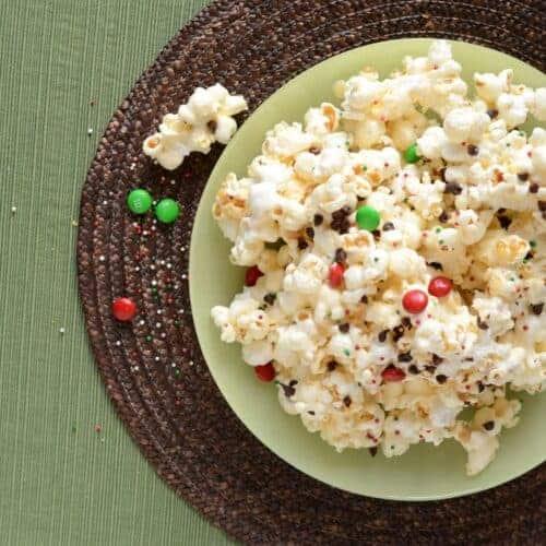 Gooey Marshmallow Popcorn with Chocolate
