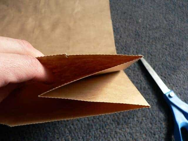 Upcylce: Blank Cards from a Brown Paper Bag