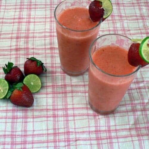 Strawberry Limeade Slushie