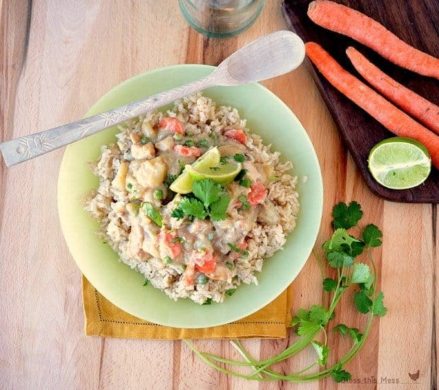 green curry recipe, curry with chicken, curry with coconut milk, potato curry