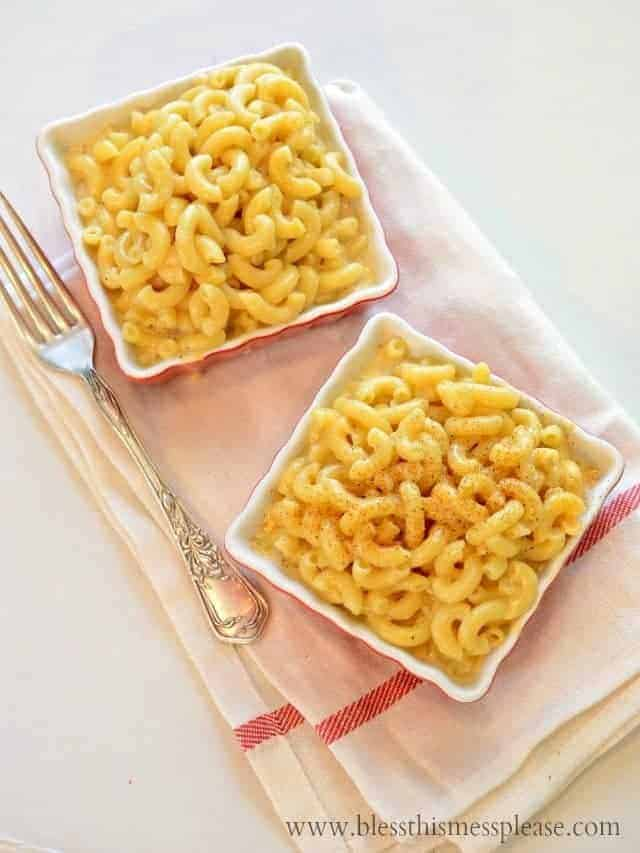 skinny ma-n-cheese recipe