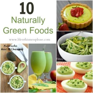 10 Naturally Green Foods for St. Patrick's Day