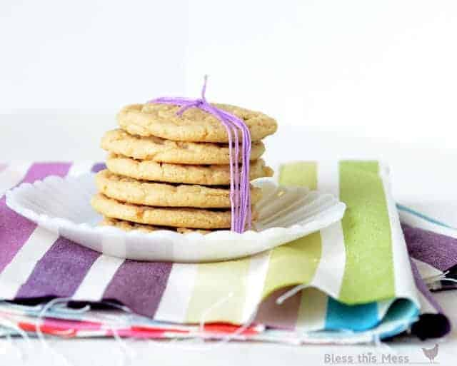 Everyone needs the perfect peanut butter cookie recipe, and this is the one. Perfectly soft and chewy peanut butter cookies that stay that way until they are gone!
