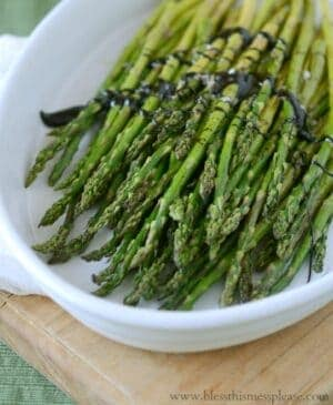 If you're wondering how to cook asparagus you'll love this simple recipe for classic roasted asparagus. Big on flavor and easy on prep!