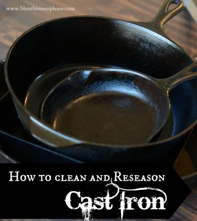 How to Clean & Re-Season a Cast Iron Skillet   Cast Iron Cookware Care