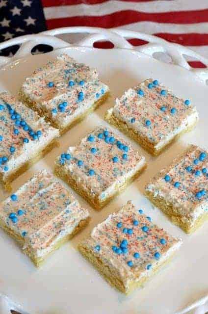 4th of july sugar cookie dessert