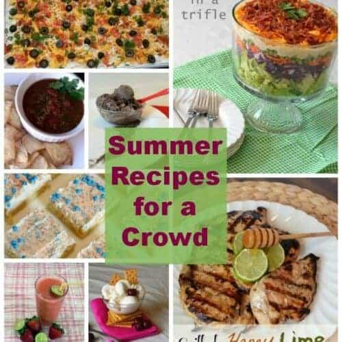 My favorite summer recipes