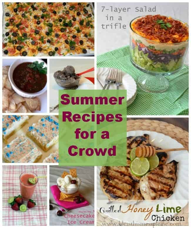 PicMonkey Collage, summer recipes, party food, recipes