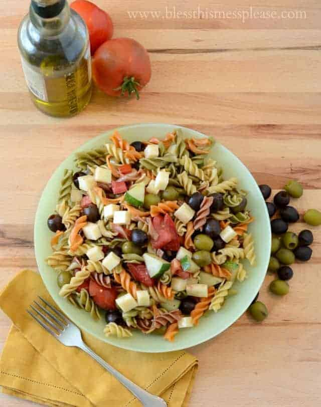 Image of The Best Pasta Salad for a Party