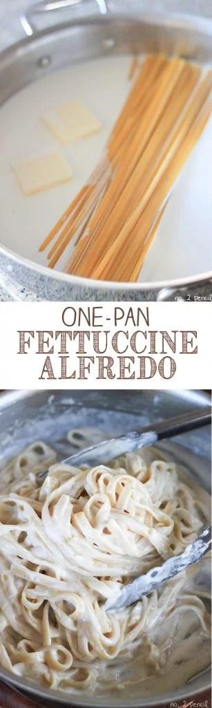 One-Pan-Fettuccine-Alfredo-Collage