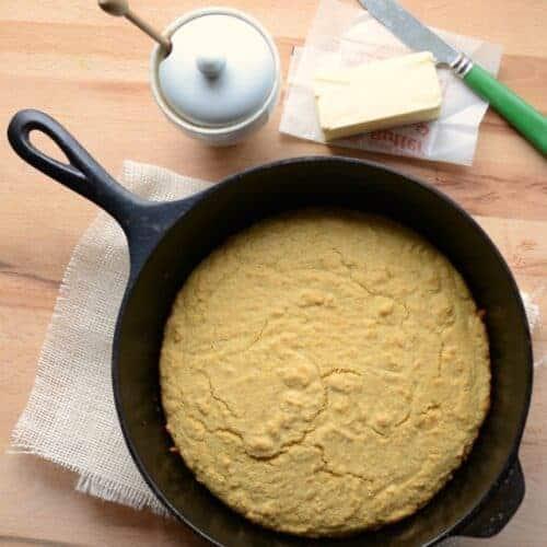 Whole Grain Cornbread
