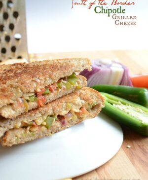 South of the Border Chipotle Cheddar Grilled Cheese Sandwich will change your life.