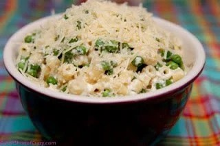 Pasta with Peas and Ricotta