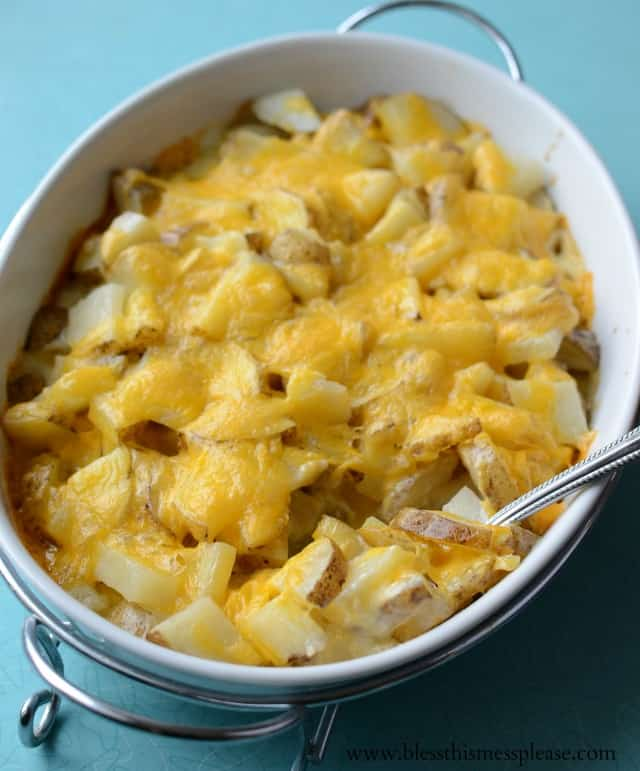 Super easy recipe -Pioneer Woman's Perfect Potatoes au Gratin