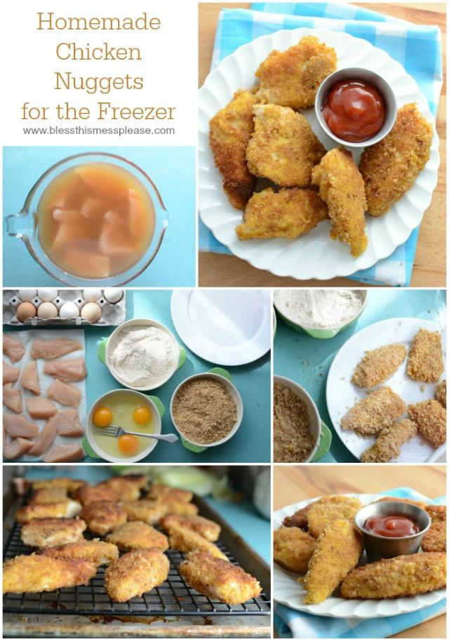 Healthy Homemade Frozen Chicken Nuggets from America's Test Kitchen