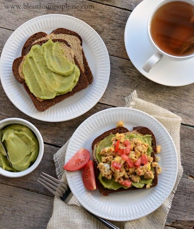 avocado toasty