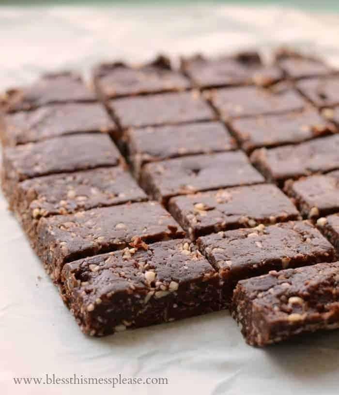 Healthy Homemade Snack Bars