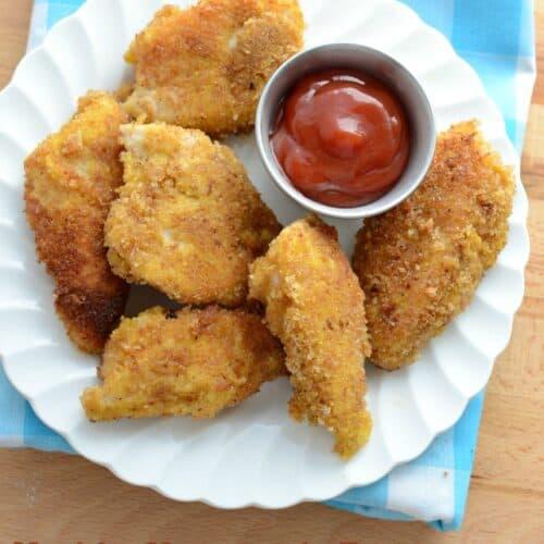 Healthy Homemade Frozen Chicken Nuggets