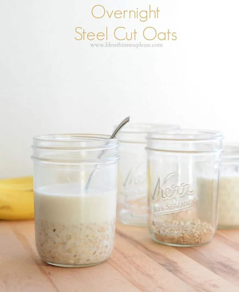 Easy Overnight Steel Cut Oats Recipe