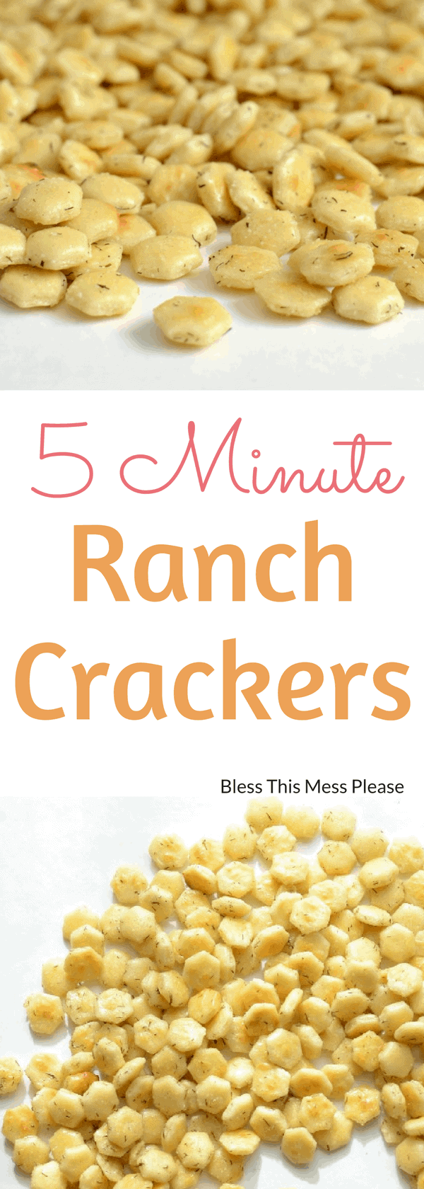 5 Minute Ranch Crackers