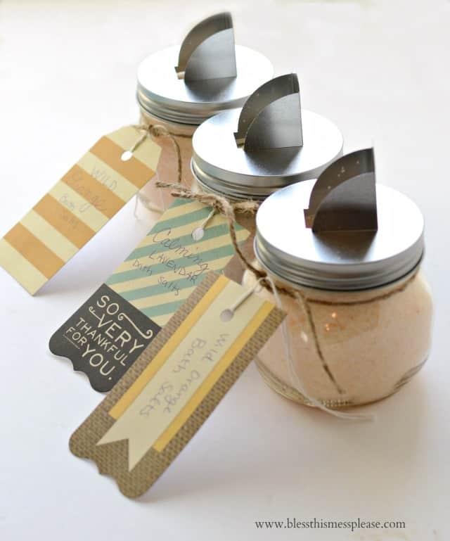 DIY Bath Salts and Sugar Scrubs (Great Homemade Gifts!)
