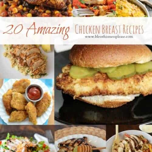 20 Amazing Chicken Breast Recipes