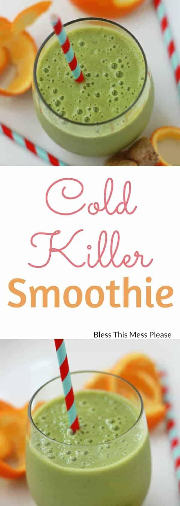 Cold Killer Smoothie