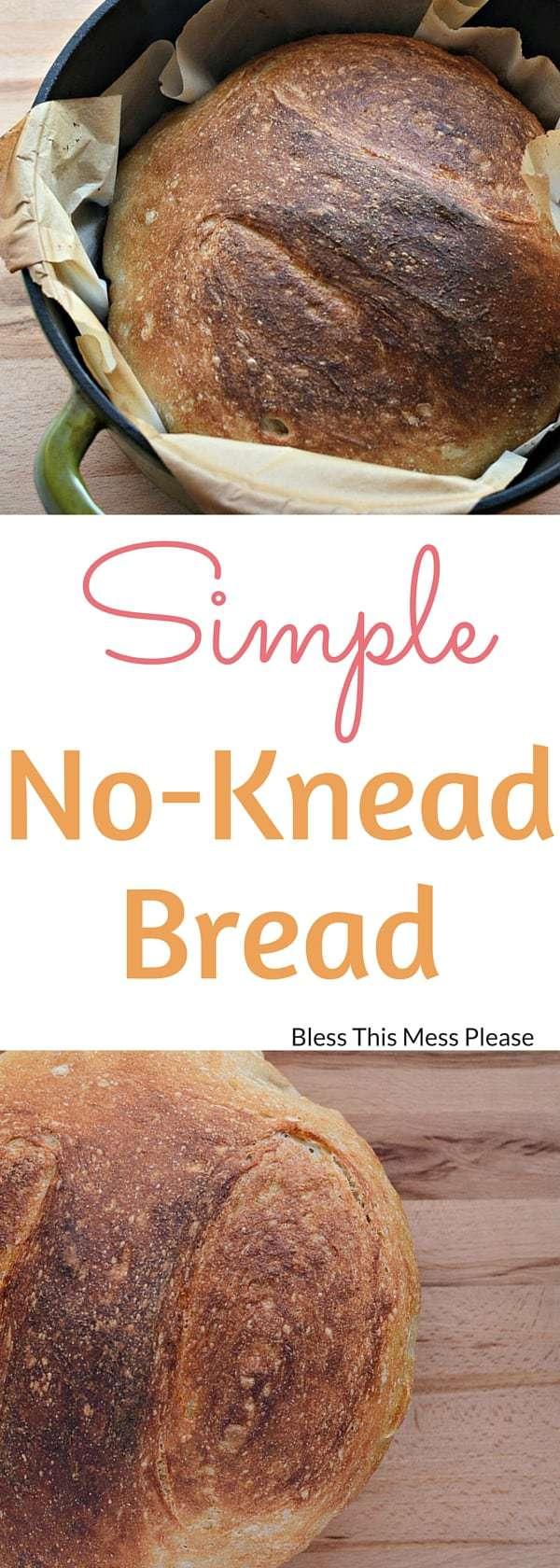 Simple No-Knead Bread