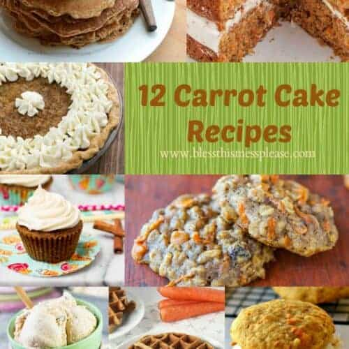 Carrot Cake Recipe Roundup - so much more than cake!