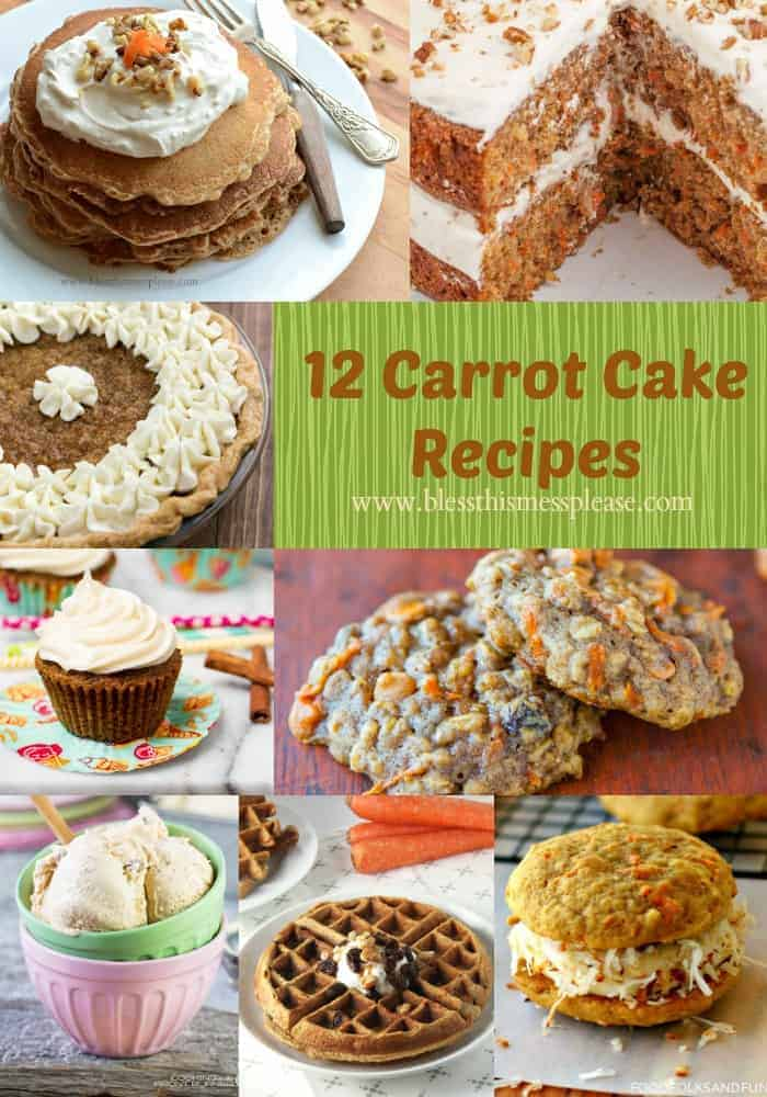 Enjoy this fun recipe collection and get inspired by all things carrot cake.