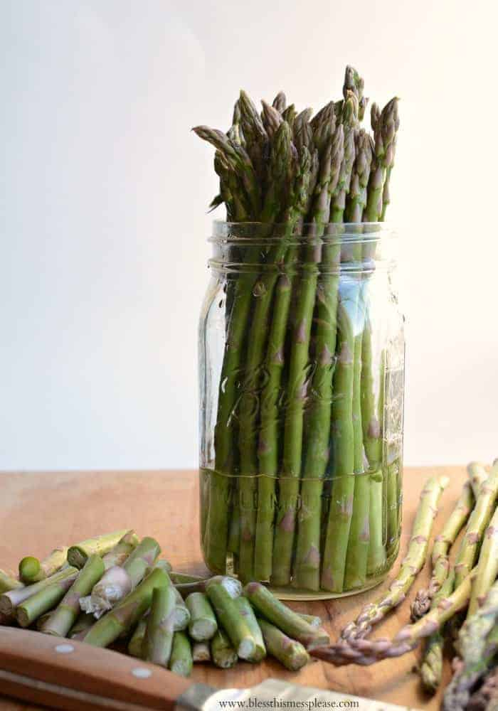 How to Store Fresh Asparagus this kept is perfect for 10 days!
