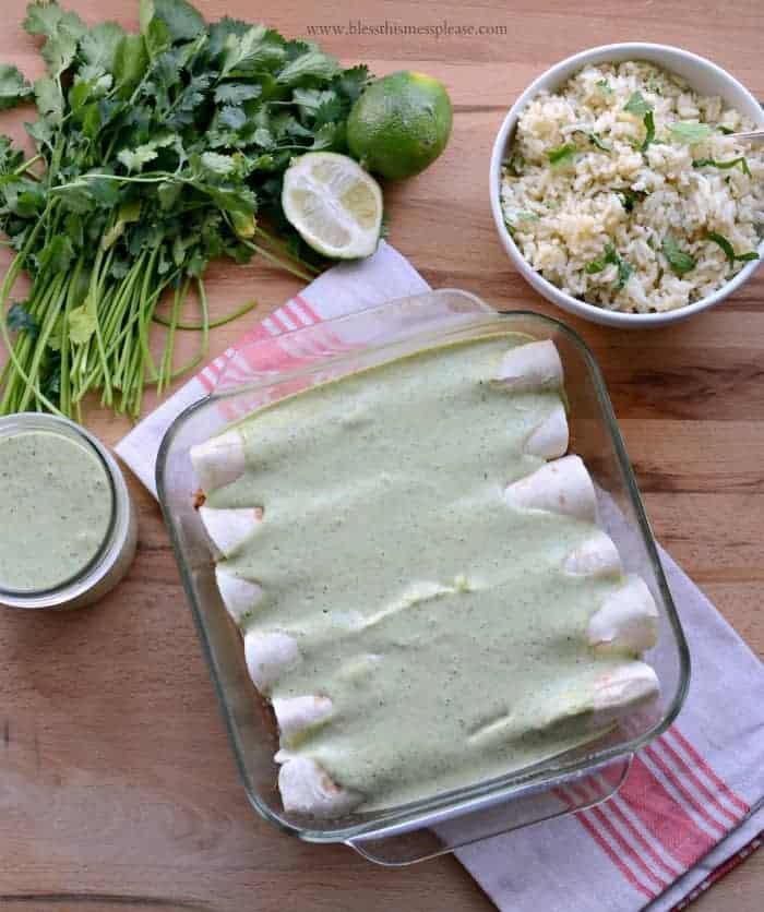 Chicken Ranch Burrito Recipe