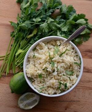 Image of Santa Fe Cilantro Rice with Garlic