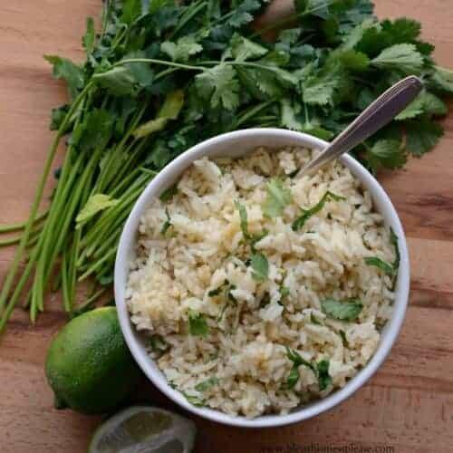 Santa Fe Cilantro Rice with Garlic