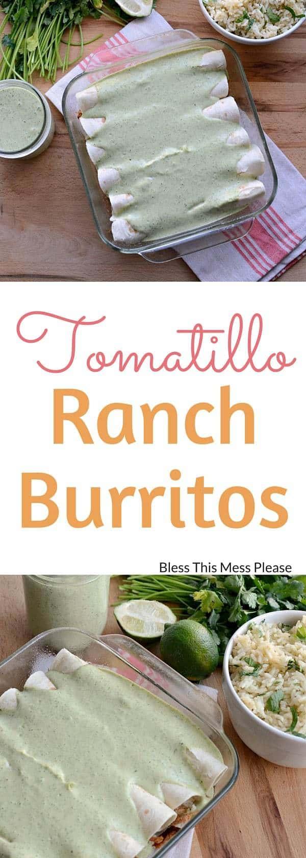 Tomatillo Ranch Burritos