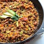 Image of Healthy One Pot Quinoa Taco Casserole